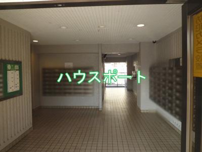 【エントランス】ユニハイム四条梅津