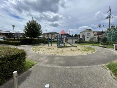 公園があり子供も喜びますね。