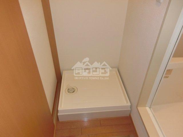 室内洗濯機置場・サクラアパートメント