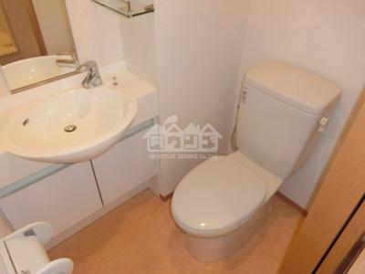 トイレ・サクラアパートメント
