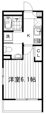 間取図・サクラアパートメント