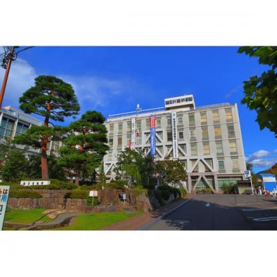 役所「松本市役所まで1969m」