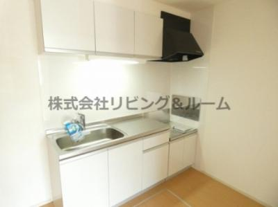 【キッチン】グレイスフル・A棟