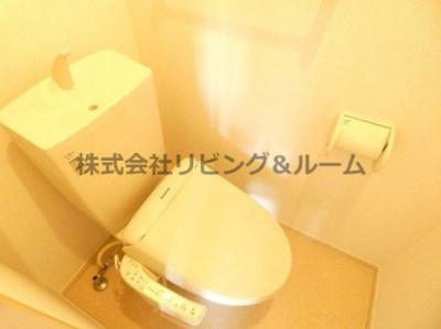【トイレ】グレイスフル・A棟