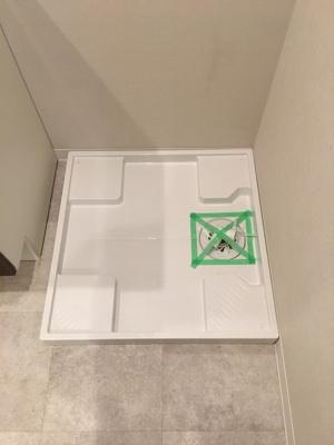 洗濯機を置いても余裕の空間♪