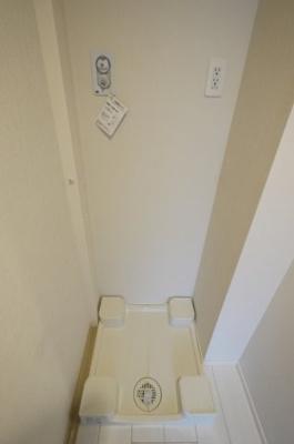 室内洗濯機置場はこちらです