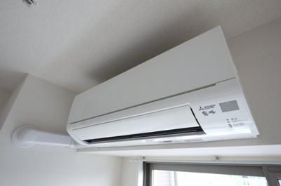 エアコンはリビングに1台設置済み