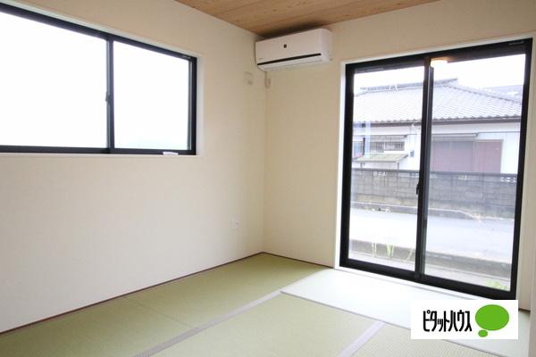 【2号棟】和室 家族憩いの寛ぎのスペース和室☆