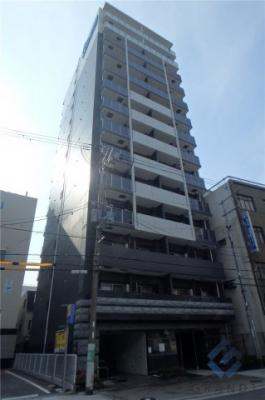 【外観】プレサンス玉造駅前ルージュ