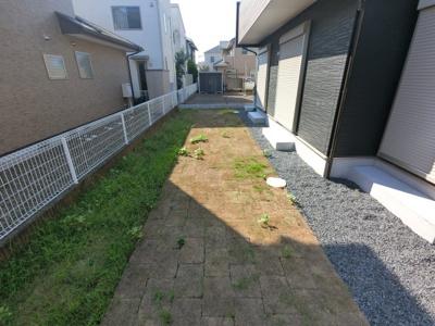 【庭】ブルーミングガーデンつくば市松代1丁目