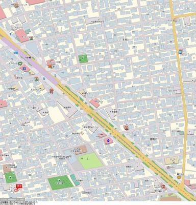 【地図】コスモ千早町