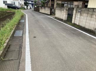 【前面道路含む現地写真】高崎市井野町売地