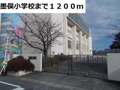 墨俣小学校まで1200m
