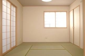 和室施工例です。