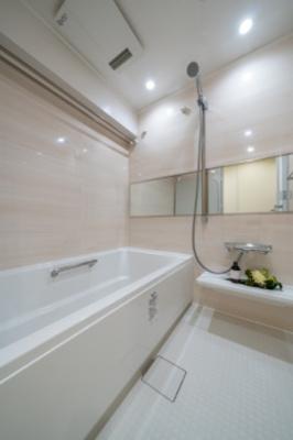 浴室乾燥機付きのシステムオートバス