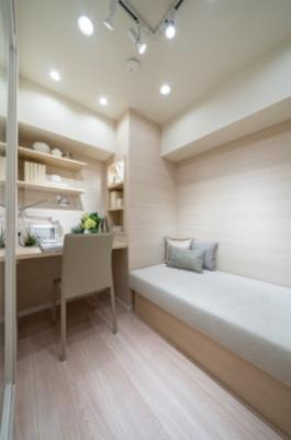 ワークスペース、書斎としてご利用可能な空間(DEN)がございます。