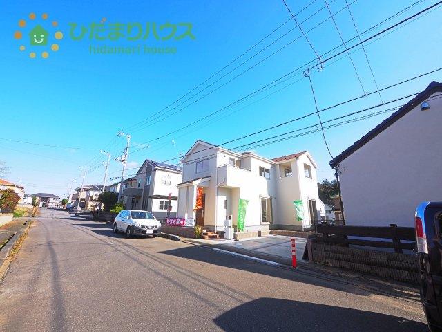 【外観】土浦市中3期 新築戸建