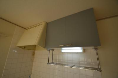 キッチン上部収納 換気扇