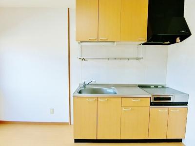 キッチンも広くて便利です