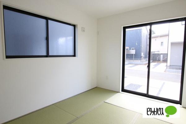 【1号棟】和室 家族憩いの寛ぎのスペース和室☆