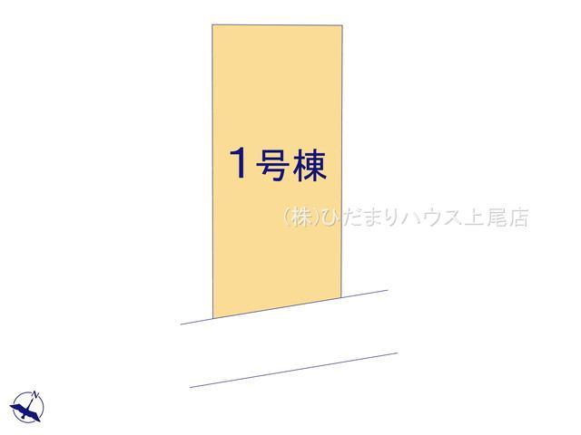 【区画図】上尾市向山2丁目 新築一戸建て リーブルガーデン 01