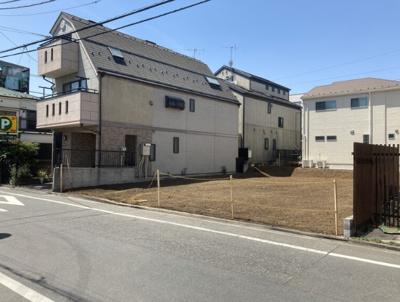 建物建築前の現地写真