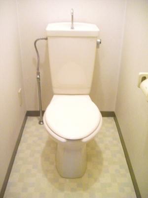 【トイレ】パールマンション松本