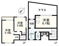 衣笠テラスハウス~ペットと住める家~の画像