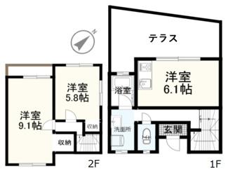 衣笠テラスハウス~ペットと住める家~