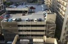 品川シーサイドレジデンスの駐車場です。