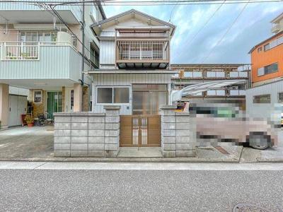 【外観】吉田町貸家(3K)