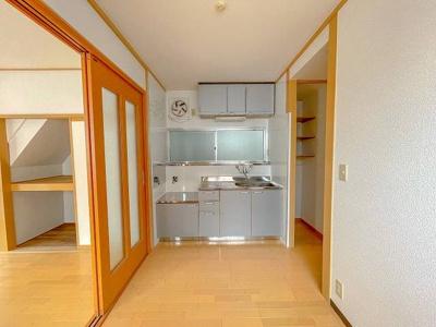 【キッチン】吉田町貸家(3K)