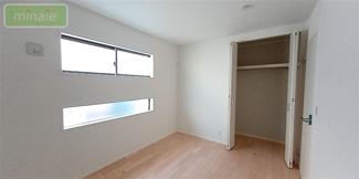 【寝室】セカンド洗面台 ワイドバルコニー 市川市大和田 限定1区画