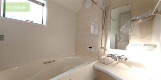 【浴室】セカンド洗面台 ワイドバルコニー 市川市大和田 限定1区画