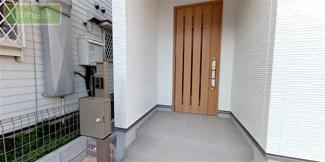 【玄関】セカンド洗面台 ワイドバルコニー 市川市大和田 限定1区画