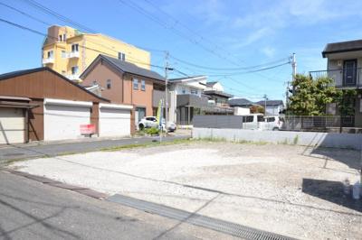 別所町の角地 敷地面積40坪以上!すぐに建築のお手配が可能な更地です
