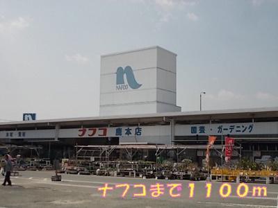 ナフコまで1100m