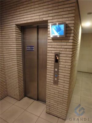 エレベーター2基完備