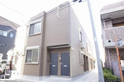 東急多摩川線「武蔵新田」駅より徒歩10分の築浅アパートです