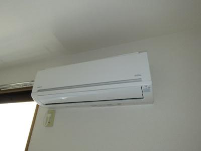 エアコンがついてます