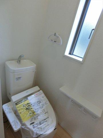 トイレは1,2階両方にあります。トイレが2か所あると便利。夜間のトイレも安心。