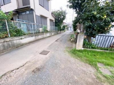 【前面道路含む現地写真】所沢市下安松