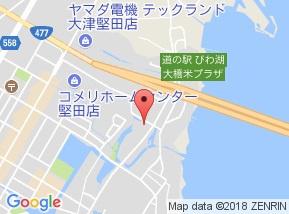 【地図】エヌキュート今堅田I
