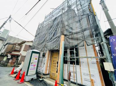 【外観】足立区大谷田2丁目新築戸建て