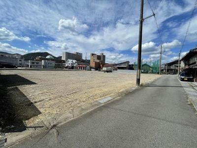 【前面道路含む現地写真】西脇市西脇売土地 8号地