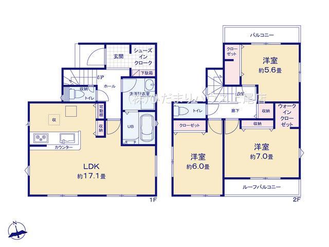 桶川市加納 21-1期 新築一戸建て リナージュ 01