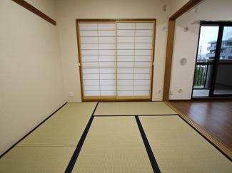綺麗な和室です