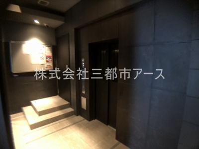 【ロビー】ガーラ・グランディ五反田