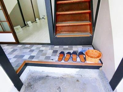 【玄関】東浅香山町テラスハウス