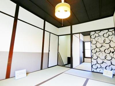【居間・リビング】東浅香山町テラスハウス